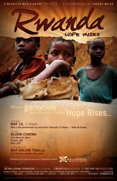Rwanda: Hope Rises at the Bloor Cinema