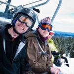 Skiing Mt. Bachelor